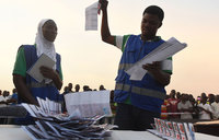 Ghana awaits outcome of tight election race