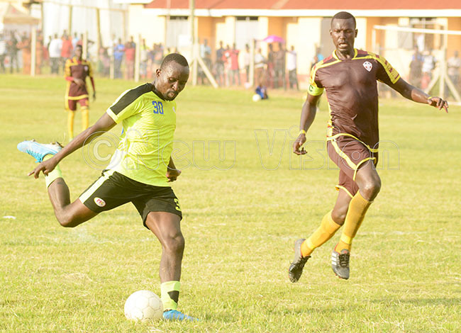 rolines amis iego izza left scored twice as roline beat aroons at uzira