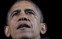 Obama sheds tears on last campaign rally
