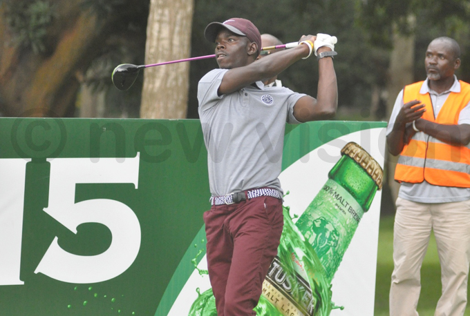 espite an underwhelming day two performance tile is still top of the leaderboard hoto by ichael subuga