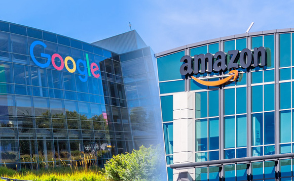 Could Google and Amazon's exposure to customer data help them provide funds or track stock performance?