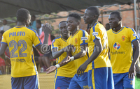 KCCA FC go second after Okello secures win over UPDF