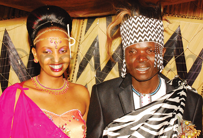 onald ayinja and isha akyeyune during their introduction ceremony in uly 2011