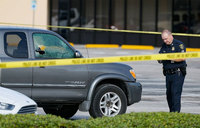 Nine injured in Houston shooting, suspect killed