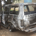 Khadi's car burns to ashes hours after receiving it
