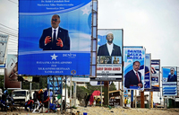 Mogadishu on lockdown for president's inauguration