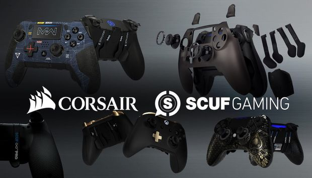 Corsair adds Scuf's beloved enthusiast-grade gaming controllers to its growing empire