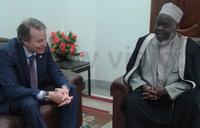 Mufti Mubajje, EU envoy hold talks
