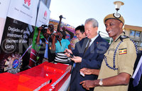 Chinese embassy donates to police