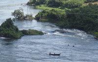 The rise and fall of Jinja's Bujagali falls