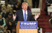 Trump calls former campaign aide who pleaded guilty a 'liar'
