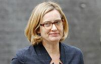 UK interior minister Amber Rudd resigns