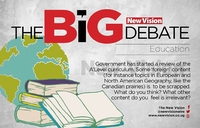 The big debate: Should gov't scrap some A'level subjects?