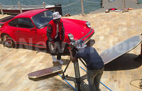 Behind-the-scenes: Bobi Wine shoots video for Size Yo