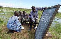 Picture of the day: Deputy headteacher in Bukedea