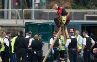 Black Lives Matter protesters shut London airport