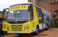 KCCA FC gets new team bus