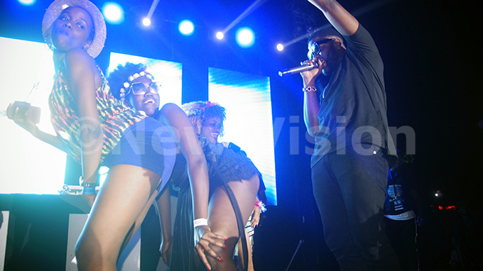 kales performs at the 23 edition of lankets and ine festival at ugogo ricket val  25082019