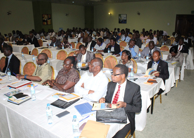 crosssection of the delegates that attended the launch at mperial oyale otel in ampala hoto by ony ujuta