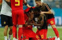 Belgium beat Japan to storm quarter-finals