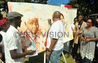 Ugandans celebrate Mandela Day