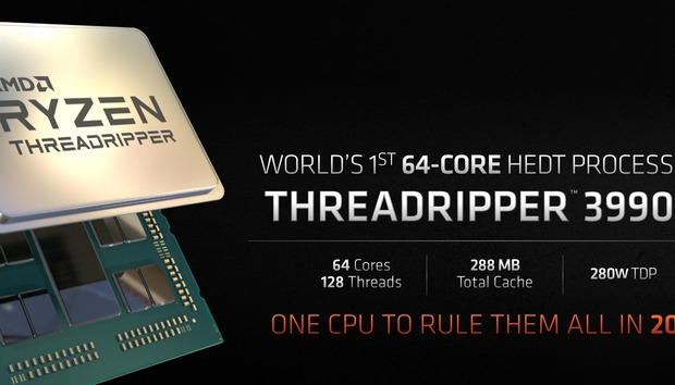 AMD's monstrous 64-core Threadripper 3990WX: How much and how fast it will be