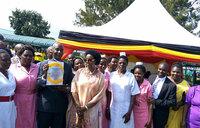 Kayihura donates bedding, establishes police post at Kisoro Hospital