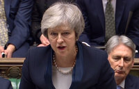 UK parliament votes against PM May's Brexit deal
