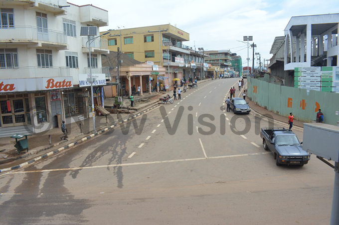 mpty streets in the usually busy barara town hotos by dolf yoreka