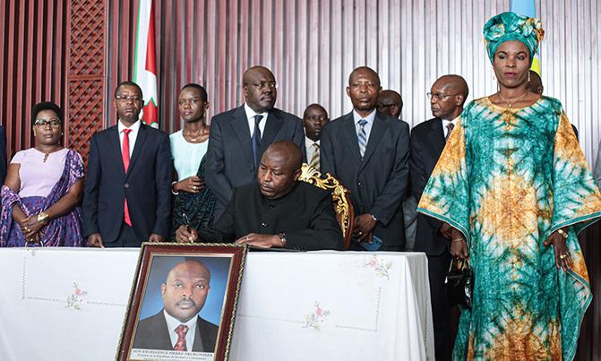 Burundi's new president Ndayishimiye to be sworn in Thursday