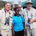 Famous birdwatchers set foot in Uganda