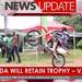 Uganda will retain trophy, says Van Pee