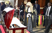 Wacha Olwol's body lies in state at Parliament
