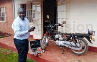 Kato develops boda boda tracking system