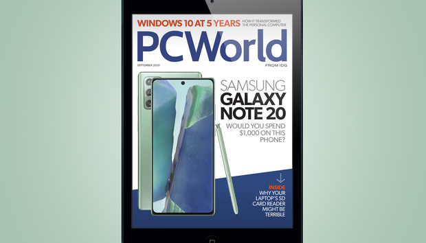 PCWorld's September Digital Magazine: Would you spend $1,000 on a Samsung Galaxy Note 20?