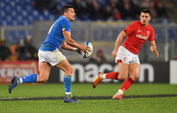 Rugby: Wales beat Italy 26 - 15 in Six Nations
