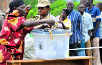 Huge turnout in Butambala by-elections