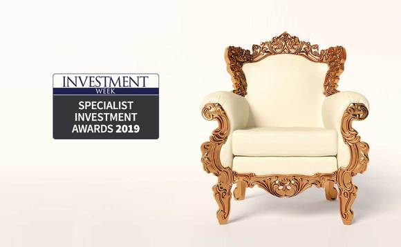 Investment Week Specialist Investment Awards 2019