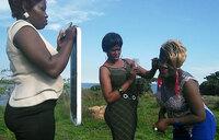 Joy Tendo shoots video for 'Yesu gwe mugga'
