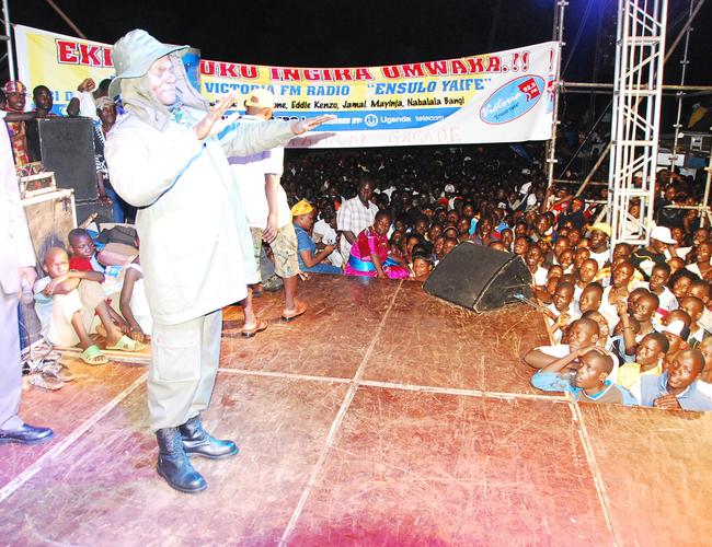 erbert egujja entertains during ew ear celebrations in inja kibinuko ngira mwaka concert on 311210