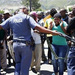 Police fire rubber bullets at S.Africa farm strikers