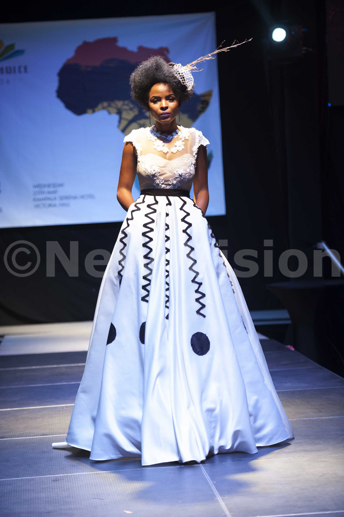 utfit by  lothing at the frica ay celebrations at erena