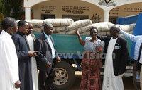 Rakai school fire: Kabaka donates items