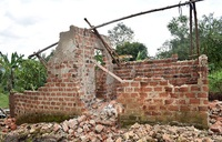 Heavy rains destroy houses, plantations in Mpigi