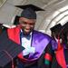Rema's doctor graduates, causes a stir at MAK grad