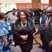 Hope Ramaphosa arrives ahead of son's ceremony
