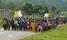 Pilgrims start trekking to Namugongo