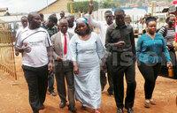 Nabilah, Kampala councillors and mayors storm EC offices
