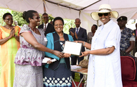 First Lady urges UWESO to support refugees