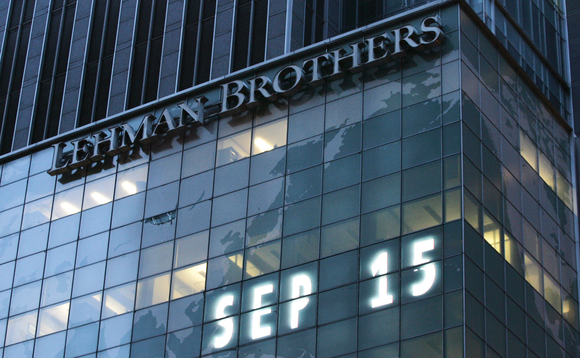 Lehman Brothers collapsed on 15 September 2008